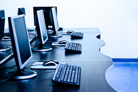 modern computers in IT office Stock Photo - 9506020