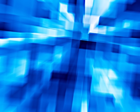 3d background from high speed motion blurred cubes photo
