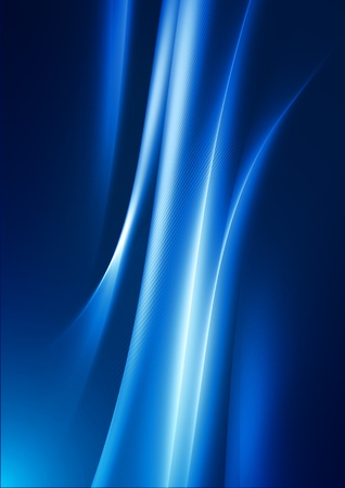 abstract fluid background on blue Stock Photo - 10021292
