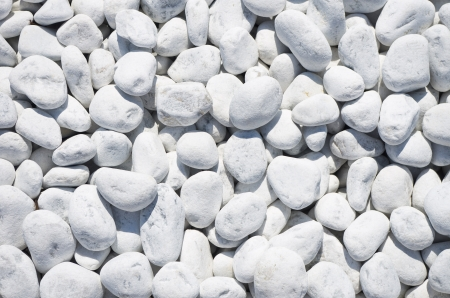 peeble: abstract background with round white peeble stones