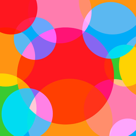 simple background: Simple and Colorful Circles Background