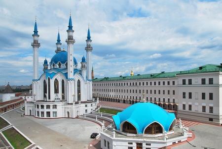 tourism in russia: Russia. City of Kazan. The Kul Sharif mosque