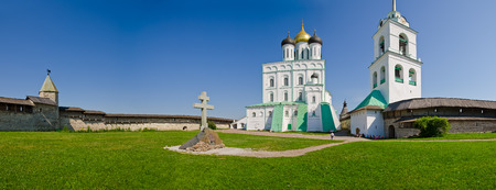 Trinity Cathedral, Pskov Kremlin, Pskov, Russia photo