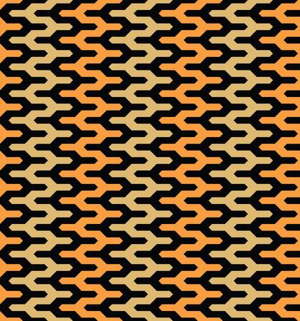 Moroccan style mosaic ornament. Seamless mosaic tile pattern Illustration
