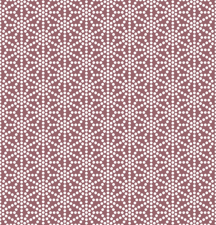 Traditional Japanese geometrical ornament. Vector seamless pattern