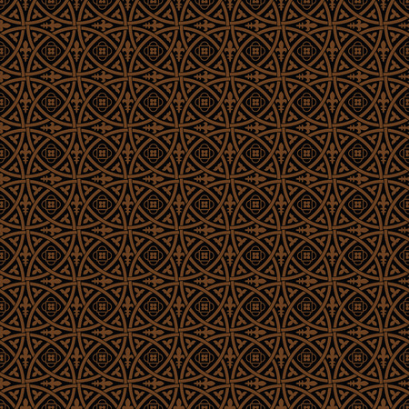 Gothic ornament. Seamless medieval floral vector pattern Vector