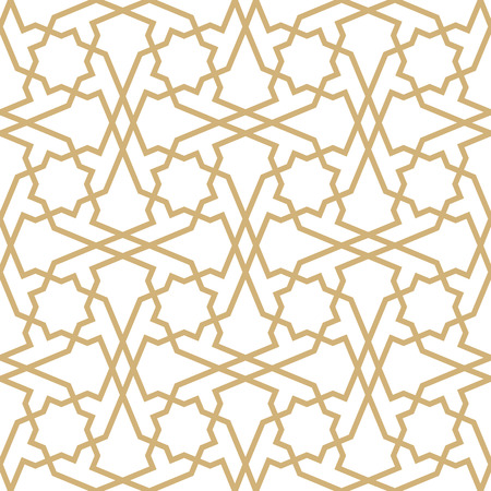 Background with seamless pattern in geometric style.