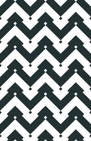 Chevron seamless vector pattern. Geometrical Moorish pattern. Vintage zigzag ornament. Abstract pattern for fabric or packaging