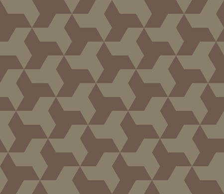 Seamless abstract pattern. Abstract ornament of repeating elements. Ilustração