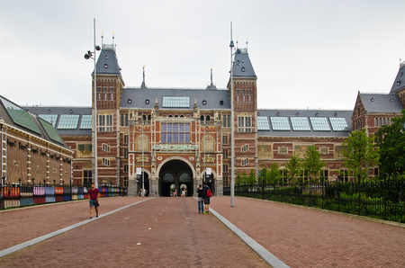 The Rijksmuseum is a Netherlands national museum dedicated to arts and history in Amsterdam. June 2014, Amsterdam