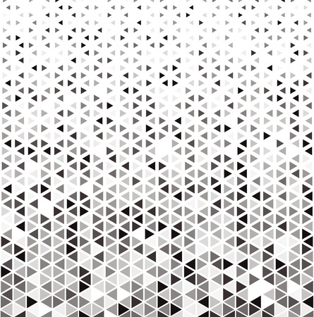 Hexagonal Halftone Pattern. Abstract vector background with triangles. Crystal pattern