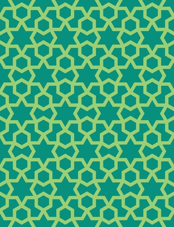 Abstract pattern in Arabian style. Seamless vector background. Islamic abstract ornament pattern