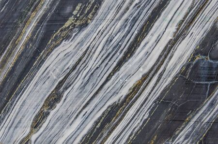 Photo of a slice of a large marble stone. Natural marble texture. Marble rock Imagens