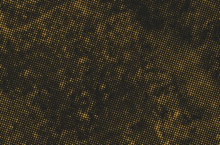 Grunge halftone dots background. Offset Printing Texture.