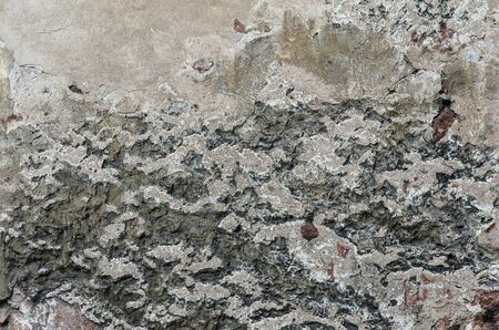 Background of stone wall texture. Background grunge stucco stone wall
