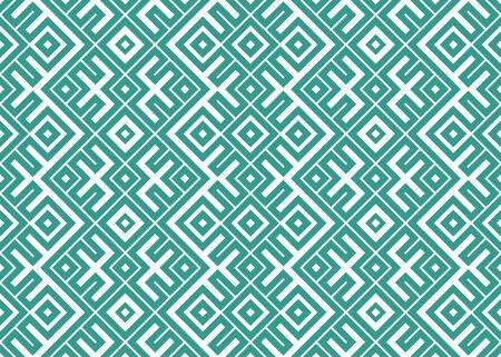 National knitting striped slavic ornament. Vector illustration of ethnic seamless ornamental geometric pattern