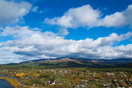 Khibiny mountain range on the Kola Peninsula. Russian nothern nature