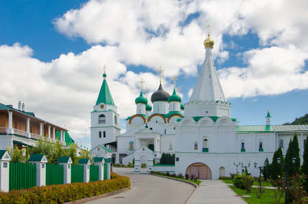 Holy place of Orthodox Christians: Ascension Pechersky Monastery in Nizhny Novgorod