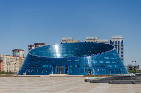 Nur-Sultan, Kazakhstan, July, 2019: Kazakh National University of Arts