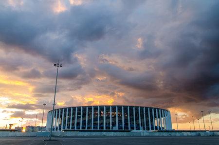 Russia, Nizhny Novgorod, August 2020 - New stadium in Nizhny Novgorod