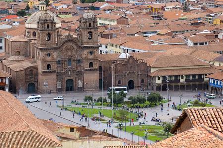 central square: Piazza centrale di Cuzco, Per�