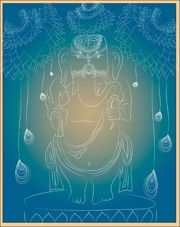 budha: Ganesha Illustration