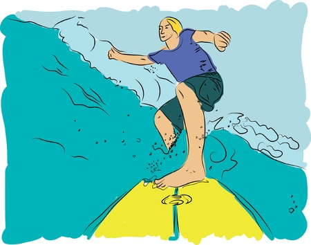 swell: surf dude