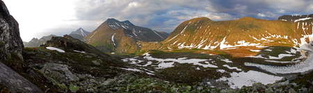 Clean mountain lakes