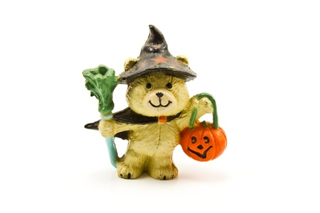 cute bear figure for halloween Stock Photo