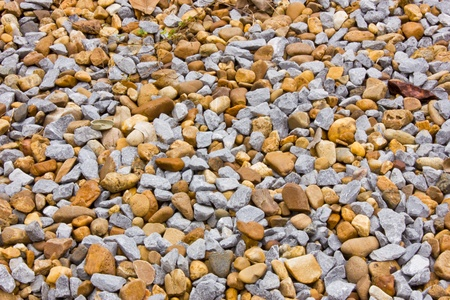 Gravel and rock Stock Photo