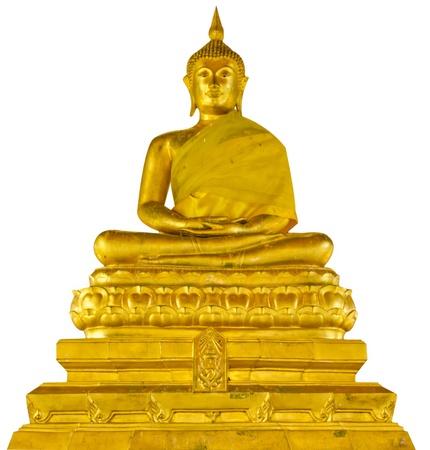 Buddha statue isolated
