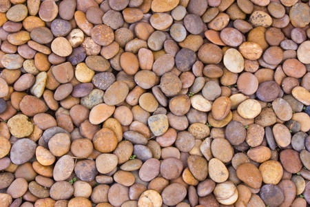 Glatte runde Felsen Textur