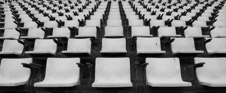 gradas estadio: Estadio con capacidad para Foto de archivo
