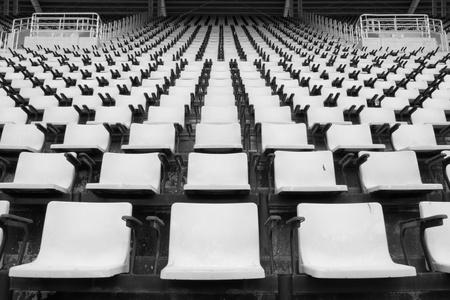 color fan: Stadium seat