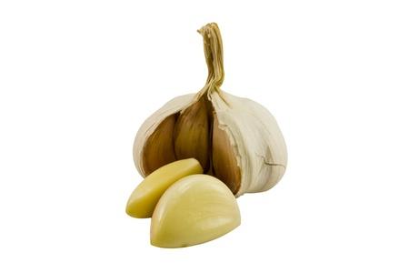 Garlic isolated