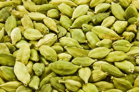 pod: cardamon seed close up