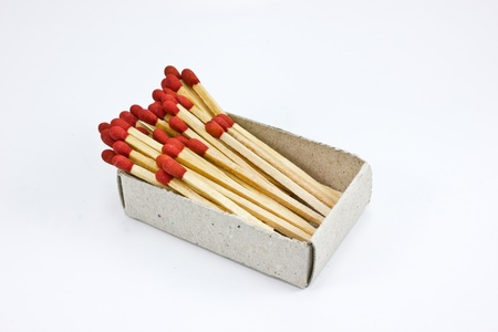 matchstick in the box photo