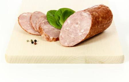 krakow sausage: Krakow sausage dry