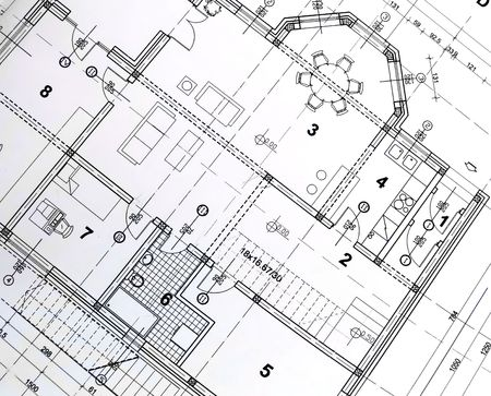 plotter: architectural plan