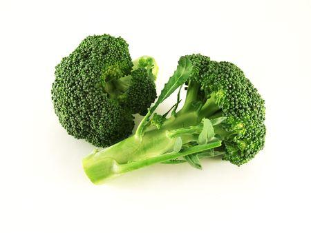 isolated broccoli Banco de Imagens