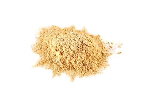 batch: isolated batch of face powder