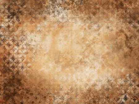 grunge wall texture with floral pattern photo