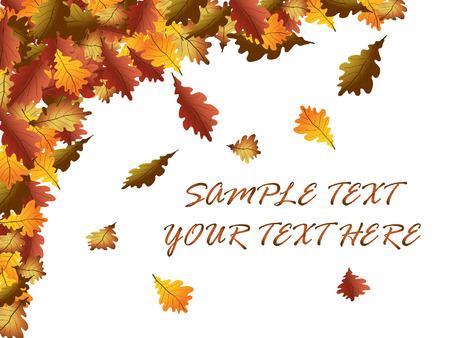 Autumn leaves Stock Vector - 8032855