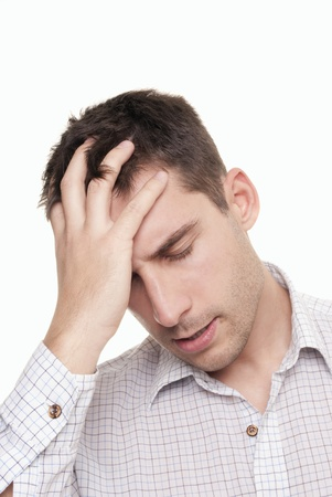 young businessman under stress Stock Photo - 8325971