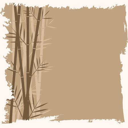 Bamboo vector background Ilustração