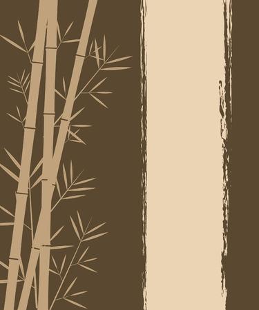 bamboo background: Bamboo vector background Illustration