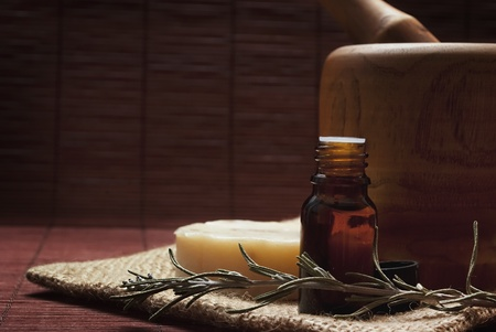 oil massage: spa essence oil