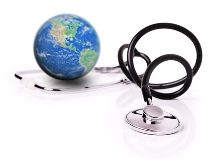 heathcare: Global heathcare Stock Photo