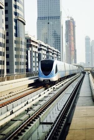 Train in dubai, United Arab Emirates photo