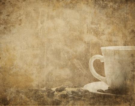 cafe menu: Vintage coffee background